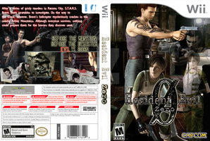 Resident Evil 0 Custom Cover by StarfireEspo