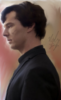 BBC Sherlock Painting by Frodo-Baggins1994