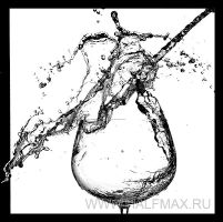 Water and glass by HALFMAX
