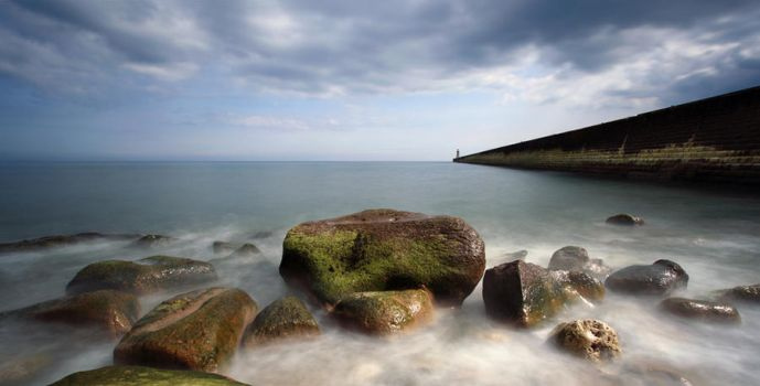 Tynemouth Pier by scotto