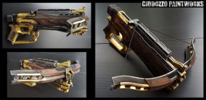 Witch Hunter Crossbow by Ciddozzo