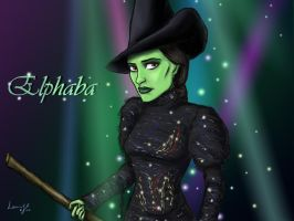 Elphaba 1024x768 by DryEyez
