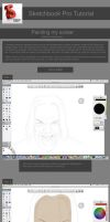 Sketchbook Pro tutorial on painting a face by DanielBNagy