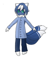 Meowstic Gijinka by spaceotters