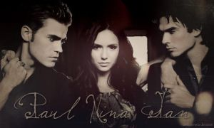Paul, Nina + Ian by unknowndesires-sonia