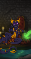 King Spyro by schl4fmuetze