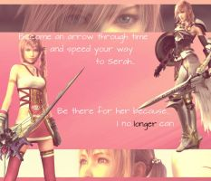 Serah and Lightning Farron by Finalfantasyismylife