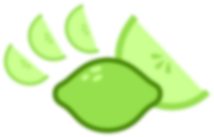 Blurred Limes by Drakizora