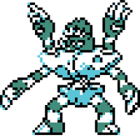 Barbaracle (Shiny) Classic Sprite Design by ninboy01
