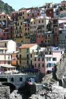 view in cinque terre 4 by ingeline-art