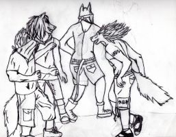 The mosh pit. by ShadowsLie