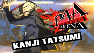 Kanji Tatsumi from Persona 4 Arena by TimothyB25