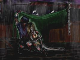 L4D: Shelter from the Rain by OpheliaWasMyName