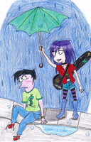 Rainy Days by UnluckyAmulet