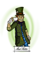 Mad Hatter by Phewcumber