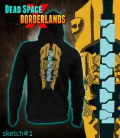 Dead Space x Borderlands Hoodie by TomGreystone