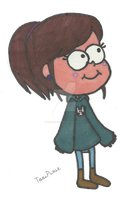 Tani in Gravity Falls by Kaoru-Hitachiinn