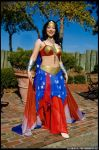 Bellydance Wonder Woman: 04 by prismkitty