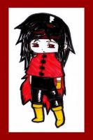 FFVII: Vincent Valentine Chibi by white-sandman-dreams