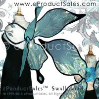 Iridescent Swallowtail Fairy Wings 4 costumes pixi by eProductSales