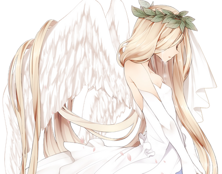 Crying Angel Render by AnimeRenders98