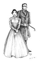 Jane Eyre and Rochester by Ludi-Price