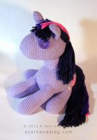 Jumbo Twilight Sparkle by SBuzzard