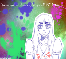you will NOT by PinkandRed