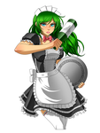 Commission - Maid Design V1 by RoninDude
