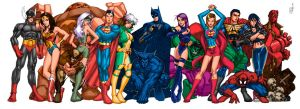 Universal Heroes by pipin