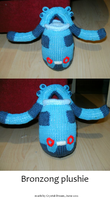 Bronzong Plushie by Crystal-Dream