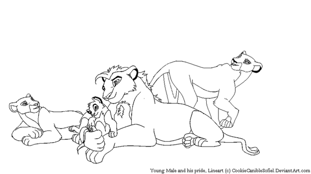 Young Pride Lineart by CookieCannibleSofiel