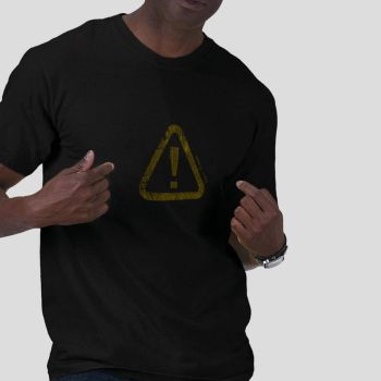 Exclamation Man by RetroHeroesClothing