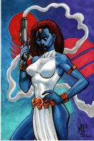 Mystique Homage by MasonEasley