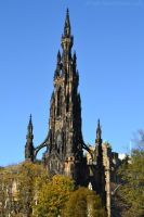 Edinburgh Scott Monument by MollyMotions