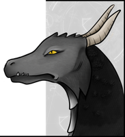 Contest: Portrait Dragon by Silvestrin
