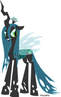 Queen Chrysalis - What My Cutie Mark Is Telling Me by MixiePie