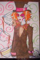 Tim Burton's Mad Hatter. by XxCyanideMelovexX