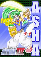 Monster World 4 ASHA by DragoonTequila