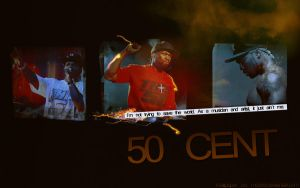 50 Cent Wallpaper by me969