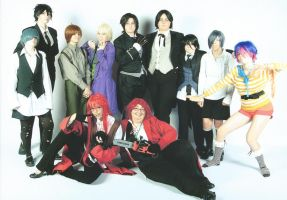 Saboten Con '12 - Kuro Group Shot :3 by LumBabsFan