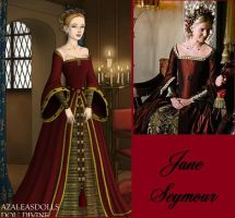 Jane Seymour Christmas dress by msbrit90
