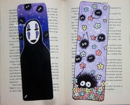 Ghibli BookMarks by TheKingOfMoths
