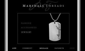 Marshall Threads Myspace Layout by Classikelly