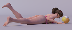 Hitomi 3DS Render 18 by x2gon