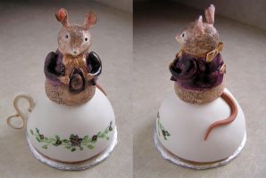 Boy Mouse Cake by DancesWithWacom