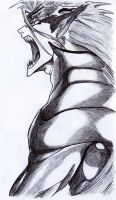 GRIMMJOW THE PANTHER by chenna22