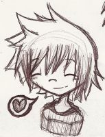 Smile Roxas Smile by FeedTheBirds