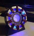 Homemde IronMan Arc Reactor by SaberPeep