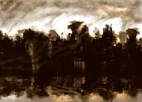 Polluted City by farooky